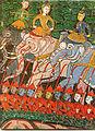 Thai - Royal Procession, Possibly a Representation of King Sanjaya from the Vessantara Jataka - Walters 2010121.jpg
