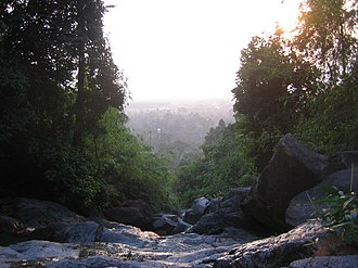 Khao Khitchakut National Park - View from above Krathing Falls