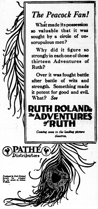 The Adventures of Ruth - Newspaper advertisement