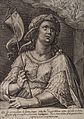 The Agrippine sibyl. Engraving by C. de Passe II after C. de Wellcome V0035898.jpg