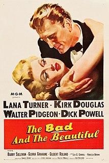 <i>The Bad and the Beautiful</i> 1952 film