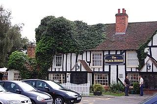 Pilgrims Hatch Human settlement in England