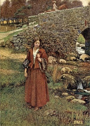 The Bailiff's Daughter of Islington - Illustration by Eleanor Fortescue-Brickdale