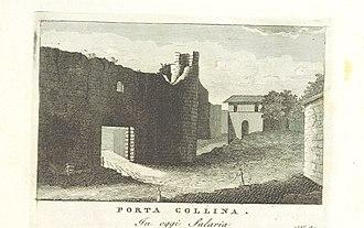 Battle of the Colline Gate (82 BC) - Porta Collina