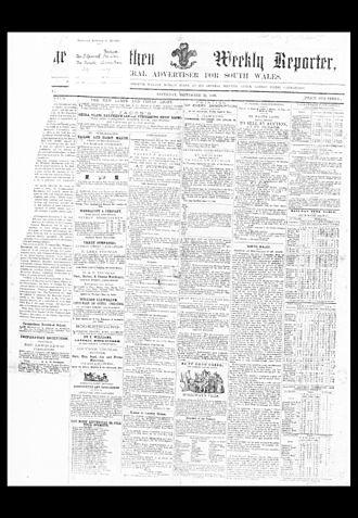 Carmarthen Journal - The Carmarthen Weekly Reporter