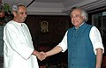The Chief Minister of Orissa, Shri Naveen Patnaik meeting the Minister of State for Environment and Forests (Independent Charge), Shri Jairam Ramesh, in New Delhi on September 24, 2009.jpg