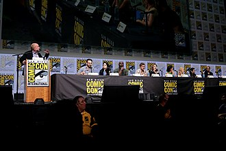 The Defenders (miniseries) - Cast of The Defenders at the 2017 San Diego Comic-Con