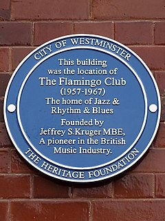 The Flamingo Club nightclub in London