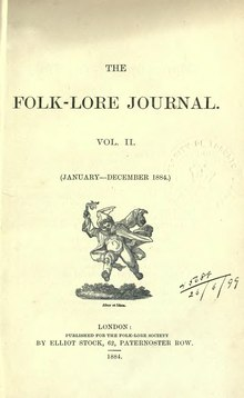 The Folk-Lore Journal Volume 2 1884.djvu