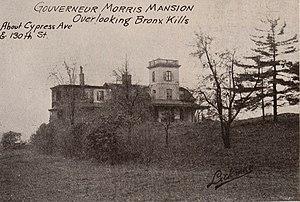 Gouverneur Morris - Morris's home in 1897