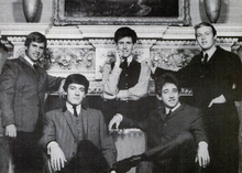The Hollies (1965) Vasakult paremale: Eric Haydock, Allan Clarke, Graham Nash, Tony Hicks, Bobby Elliott