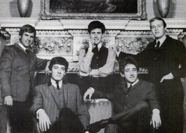 The Hollies in 1964