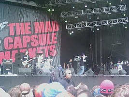 The Mad Capsule Markets, Download Festival 2005 Darker.JPG