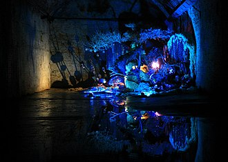 """The Old Vic Tunnels - """"The Majesty"""", a 2012 event at The Old Vic Tunnels."""