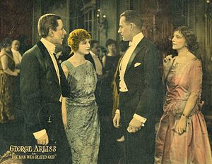 The Man Who Played God (1922 film) - Lobby card for The Man Who Played God (1922)