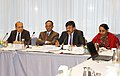 The Minister of State (Independent Charge) for Tourism, Dr. K. Chiranjeevi addressing a meeting of German tour operators, at ITB Berlin, Germany on March 07, 2013.jpg
