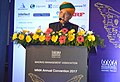 The Minister of State for Finance and Corporate Affairs, Shri Arjun Ram Meghwal addressing the gathering at the Annual Convention 2017 of Madras Management Association, in Chennai on February 17, 2017.jpg