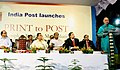 The Minister of State of Communications and Information Technology, Shri Gurdas Kamat addressing at the launch of a special service 'Print to Post' by India Posts , in Kolkata on April 18, 2010.jpg