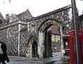The Mint Yard Gate, Kings School, Canterbury - geograph.org.uk - 67733.jpg
