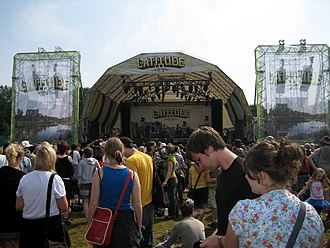 Latitude Festival - The Obelisk Arena in 2007