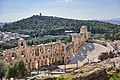 The Odeon of Herodes Atticus and Philopappos Hill on March 12, 2020.jpg