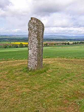 Keillor (surname) - The Keillor Stone. A bronze age tumulus at High Keillor near Keillor in Perth and Kinross