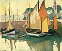 The Port of La Rochelle, Low Tide Albert Marquet (1920).jpg