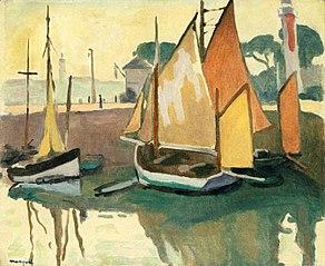 The Port of La Rochelle, Low Tide