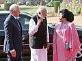 The Prime Minister, Shri Narendra Modi welcoming the Prime Minister of Malaysia, Dato' Sri Mohd Najib Bin Tun Abdul Razak at the ceremonial reception, at Rashtrapati Bhavan, in New Delhi on April 01, 2017 (2).jpg
