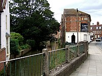 The River Bain, Bridge Street, Horncastle - geograph.org.uk - 561100.jpg
