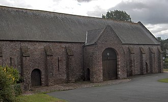 The Spanish Barn in Torquay held 397 Spanish prisoners of war The Spanish Barn, Torquay.jpg