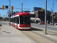 The TTC's new streetcar, 4408, on 2015 09 10 (1) (21164443398).jpg