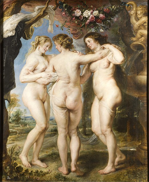 Peter Paul Rubens, The Three Graces, c.1635