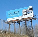 The Train to the Plane billboard.jpg
