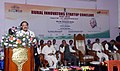 The Vice President, Shri M. Venkaiah Naidu addressing the gathering after inaugurating the Rural Innovators Startup Conclave, at the National Institute of Rural Development and Panchayati Raj, in Hyderabad.JPG