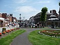 The cannon and Castle Square, Ludlow - geograph.org.uk - 1375162.jpg