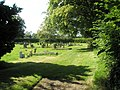 The cemetery at Ditton Priors - geograph.org.uk - 1447172.jpg