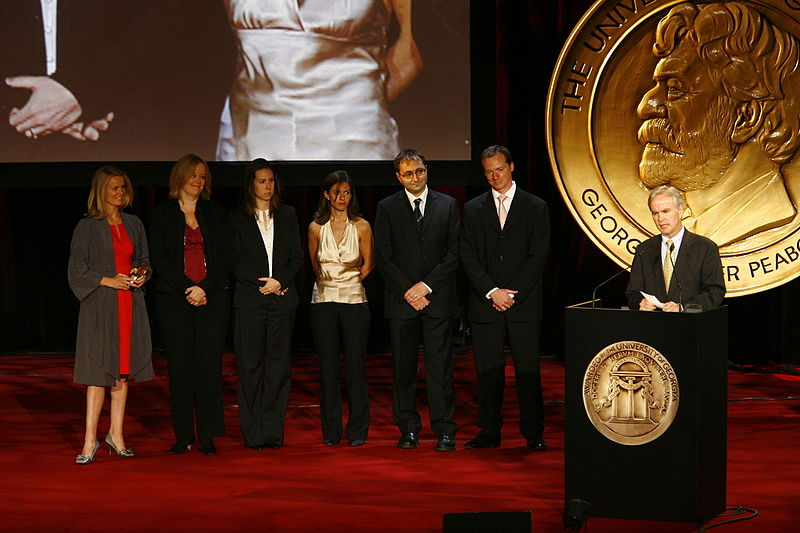 File:The crew of BBC World News America at the 69th Annual Peabody Awards.jpg