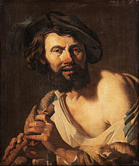 Man with a flute