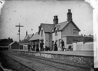 The railway station, Penrhyndeudraeth