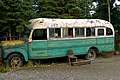 The replica of the school bus that Chris McCandless lived in, this one was used for the filming of Into the Wild.jpg