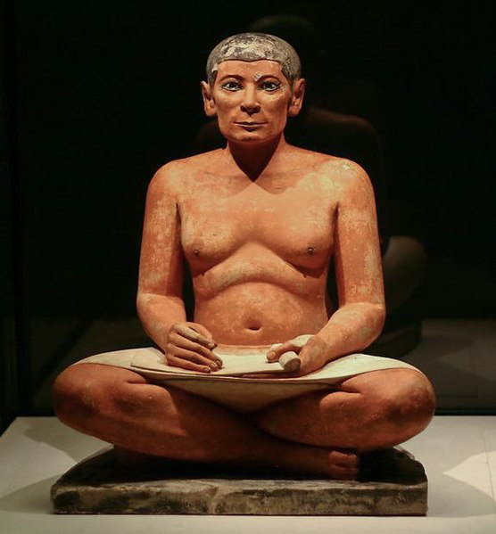 Fichier:The seated scribe.jpg