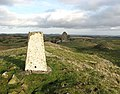 The trig point on Lady Hill - geograph.org.uk - 625943.jpg