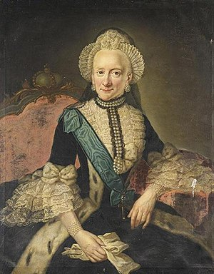 Anna Rosina de Gasc - Image: Therese von Braunschweig Wolfenbüttel by A.R. de Gasc (1773)