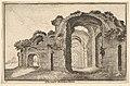 Thermaru diocletiani Ruinae (Baths of Diocletian) MET DP823384.jpg