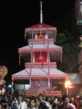 Chettikulangara Devi Temple - Theru