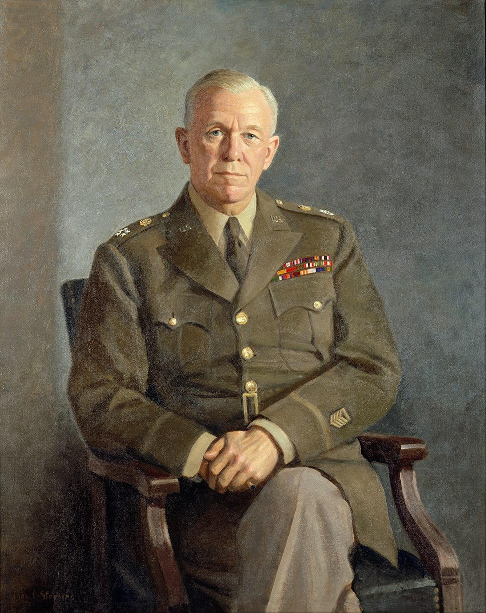 Thomas Edgar Stephens - George C. Marshall - Google Art Project