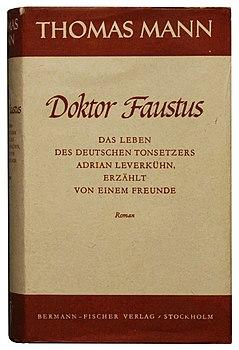 Thomas Mann Doktor Faustus 1947.jpg