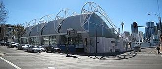 Ian Thorpe - Thorpe's Aquatic Center in Australia.