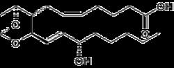 Struktur von Thromboxan-A2